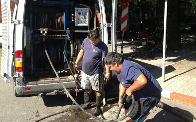 почистване на канали